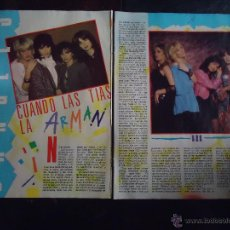 Fotos de Cantantes: THE BANGLES - GRUPO DE ROCK. Lote 49854629