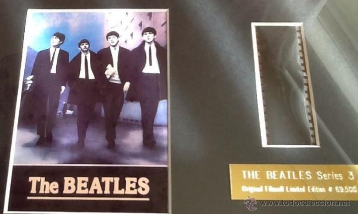 FOTOGRAMA ORIGINAL THE BEATLES SERIES 3 EDICION LIMITADA CERTIFICADA Y NUMERADA Nº 69/500 (Música - Fotos y Postales de Cantantes)