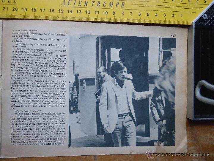 Fotos de Cantantes: hoja publicitaria - a dos caras - 1968 cantante palito ortega - Foto 2 - 53079429