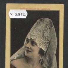 Fotos de Cantantes: PILAR FRANCO - NOTABILIDADES DEL COUPLET - VER REVERSO - (V-3812). Lote 53436373