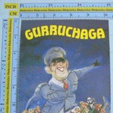 Fotos de Cantantes: POSTAL DE MÚSICA. AÑOS 80. REVISTA EL JUEVES. CARICATURA DEL CANTANTE JAVIER GURRUCHAGA. Lote 53608000