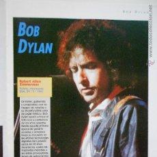 Fotos de Cantantes: HLN- HOJA REVISTA MÚSICA- BOB DYLAN. Lote 53738899