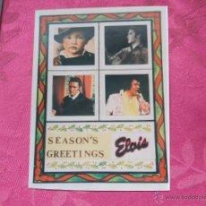 Fotos de Cantantes: ELVIS PRESLEY - FOTO SEASON'S GREETINGS . Lote 53805033