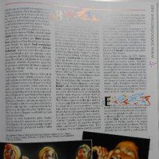 Fotos de Cantantes: HLN- HOJA REVISTA MÚSICA- I- THREES, BOB MARLEY. Lote 53946717