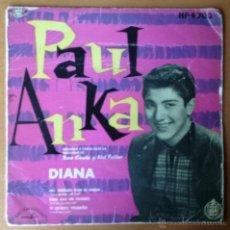 Fotos de Cantantes: PAUL ANKA. DIANA. SOLO LA PORTADA. SIN DISCO.. Lote 54225254