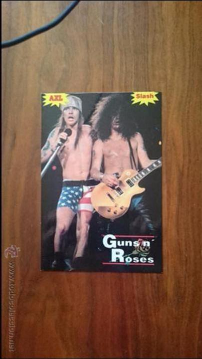 Fotos de Cantantes: Guns and Roses - Axl Rose y Slash - Foto 1 - 54536764