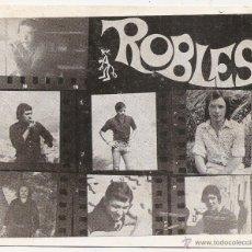 Fotos de Cantantes: TARJETA DEL GRUPO ROBLES. Lote 54914661