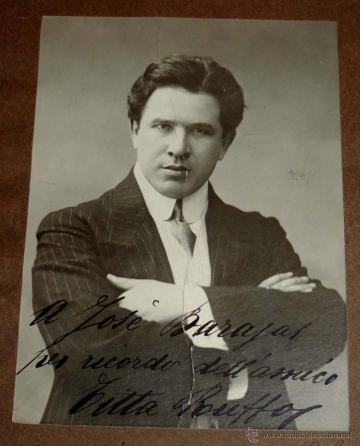 Fotos de Cantantes: FOTOGRAFIA DEL BARITONO Titta Ruffo (Ruffo Cafiero Titta), (1877 - 1953), cantante de ópera italiano - Foto 2 - 55072046