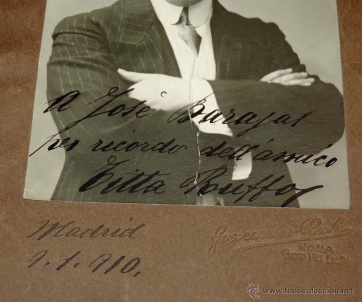 Fotos de Cantantes: FOTOGRAFIA DEL BARITONO Titta Ruffo (Ruffo Cafiero Titta), (1877 - 1953), cantante de ópera italiano - Foto 3 - 55072046