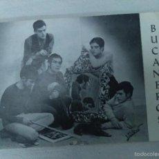 Fotos de Cantantes: FOTO POSTAL DE LOS BUCANEROS - ZARAGOZA AÑOS 60 -. Lote 55356152
