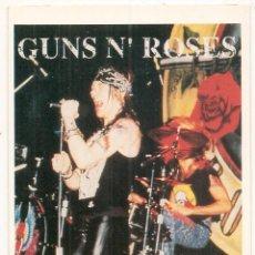 Fotos de Cantantes: POSTAL DE GUNS N' ROSES. 1993. Lote 55375972