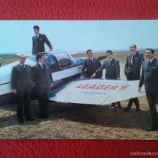 Fotos de Cantantes: ANTIGUA TARJETA POSTAL POSTCARD POST CARD GRUPO INTERNATIONAL ORQUESTA LEADER'S LERIDA. ED. BERGAS . Lote 55673396