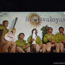 Fotos de Cantantes: LOS JAVALOYAS. TARJETA POSTAL. AÑOS 60. Lote 56265437