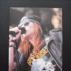 Fotos de Cantantes: POSTAL GUNS N´ ROSES.. Lote 56703072