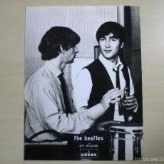 Fotos de Cantantes: ¡¡¡¡¡ THE BEATLES ¡¡¡¡¡ FOTOGRAFIA DE PROMOCIÓN ODEON - COPIA DEL ORIGINAL -. Lote 56748681