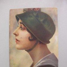 Fotos de Cantantes: TARJETA POSTAL SOPRANO OPERA LINA CAVALIERI, ITALIA 1918. Lote 57688193