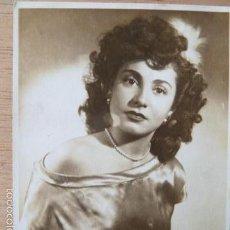 Fotos de Cantantes: JOSETTE VEDETTE CON DEDICATORIA Y FIRMA DETRAS -FOTO ROMAN. Lote 58177541