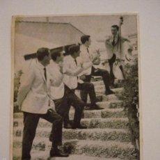 Fotos de Cantantes: ANTIGUA POSTAL PUBLICIDAD GRUPO LOS TICANOS.. Lote 58374854