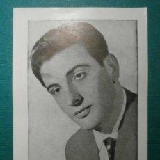 Fotos de Cantantes: JOSÉ LUIS - OBSEQUIO DE LA REVISTA FLORITA - 1960 -. Lote 58416383
