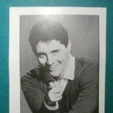 Fotos de Cantantes: SACHA DISTEL - OBSEQUIO DE LA REVISTA FLORITA - 1960 -. Lote 58416400
