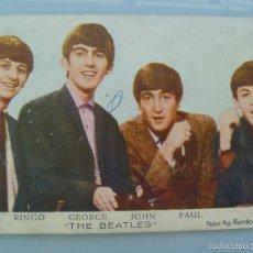 Fotos de Cantantes: POSTAL DE LOS BEATLES , ORIGINAL DE LOS AÑOS 60. Lote 58513484