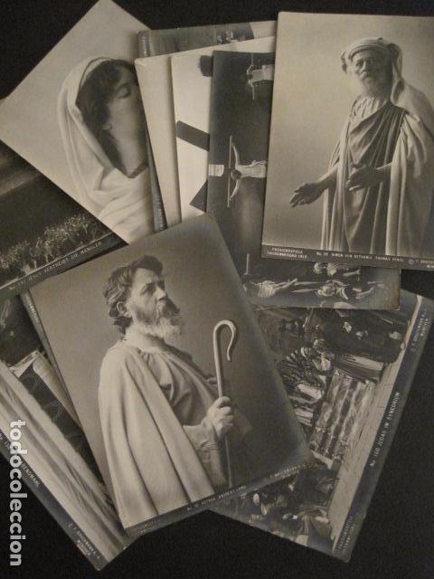 CONJUNTO 12 FOTOS - OPERA -MUNCHEN 1910 - PASSIONSPIELE -VER FOTOS -(V-6818) (Música - Fotos y Postales de Cantantes)