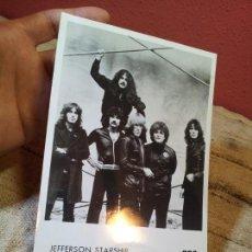 Fotos de Cantantes: FOTO FOTOGRAFIA PROMOCIONAL AÑOS 80 JEFFERSON STARSHIP 18 X 12 CM . Lote 64049823