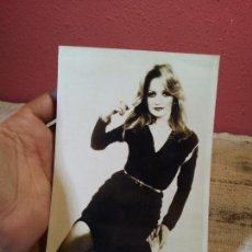 Fotos de Cantantes: FOTO FOTOGRAFIA PROMOCIONAL AÑOS 80 BONNIE TYLER --RCA TAMAÑO 18 X 12 CM. Lote 64050667