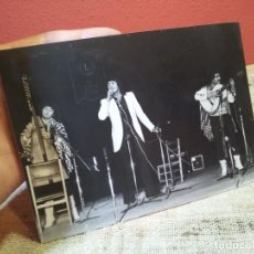 Fotos de Cantantes: FOTOGRAFIA INEDITA FOTO SALAZAR AÑOS 80 GRUPO ..??? 18 X 13 . Lote 64051919