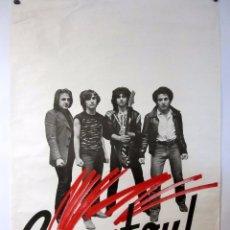 """Fotos de Cantantes: GANAFOUL """"T'AS BIEN FAILI CREVER!"""" (1981). HISTÓRICO CARTEL PROMOCIONAL DEL ÁLBUM.. Lote 67013858"""