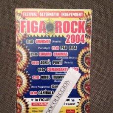 Fotos de Cantantes: FESTIVAL FIGA ROCK 2004: PAU RIBA, O.TRAMVIA, ADRIA PUNTI, MAQUINA!, E.CANIMAS..VER FOTO. Lote 67298345
