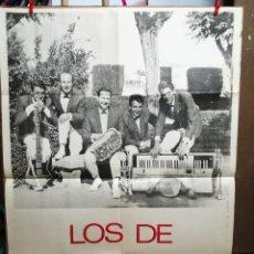 Fotos de Cantantes: LOS DE BUENOS AIRES,DISCOS ACROPOL..CARTEL DEL GRUPO 100X70 CM. Lote 69044553