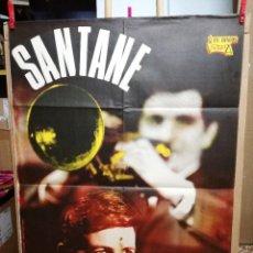 Fotos de Cantantes: CARTEL DEL GRUPO SANTANE Y SU CONJUNTO.100X70 CM. Lote 68458121