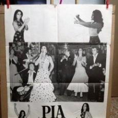 Fotos de Cantantes: CARTEL DE PIA VARGAS Y SU BALLET ESPAÑOL. Lote 69596525