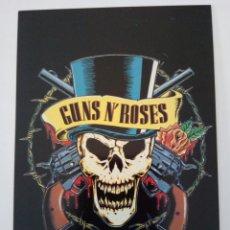 Fotos de Cantantes: POSTAL PROMOCIONAL GUNS 'N' ROSES. Lote 70289561