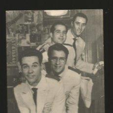 Fotos de Cantantes: LOS 4 BARMANS GRUPO MUSICAL ARTISTAS BELTER - ORIGINAL. Lote 70385705
