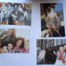 Fotos de Cantores: FOTOS SPICE GIRLS FOTOGRAFIAS ANTIGUAS. Lote 70899393