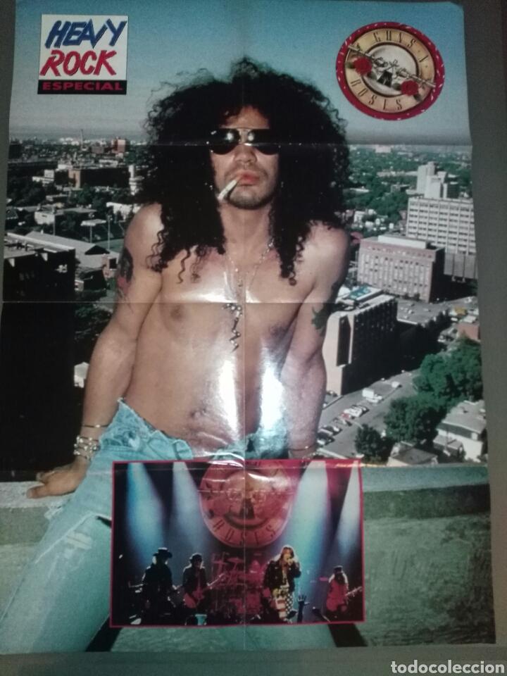 POSTER SLASH-GUNS N ROSES / METALLICA - 80X58 (Música - Fotos y Postales de Cantantes)
