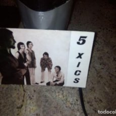 Fotos von Musikern - 5 XICS / POSTAL DISCOGRAFICA DISCOS EMI REGAL - 74034943