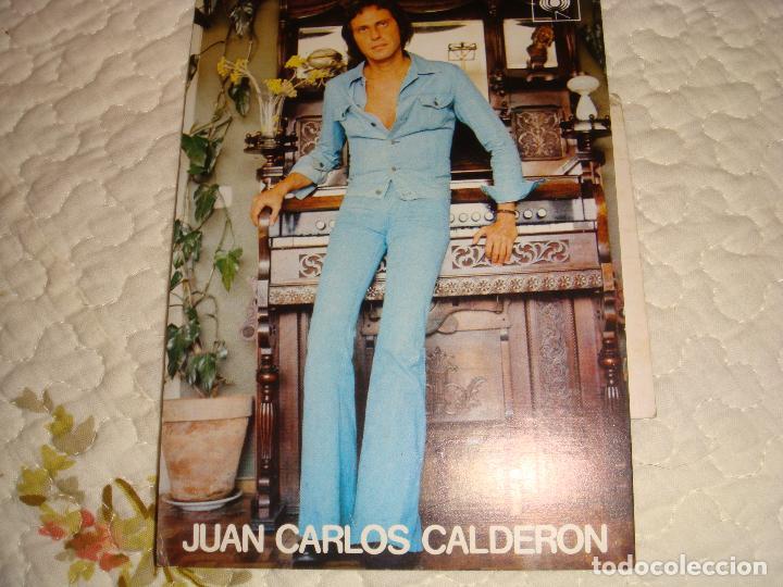FOTO/POSTAL DE JUAN CARLOS CALDERON COMPOSITOR - EN COLOR - MEDIDA 15 X 10 CTMS (Música - Fotos y Postales de Cantantes)