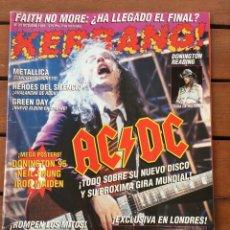Fotos de Cantantes: KERRANG 23 - OCTUBRE 95 . AC/DC . HEROES DEL SILENCIO . IRON MAIDEN. FAITH NO MORE , GREEN DAY. Lote 76769955