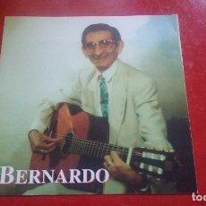 Fotos de Cantantes: POSTAL FIRMADA DEDICADA BERNARDO CANTANTE BARCELONETA BARCELONA. Lote 76853111