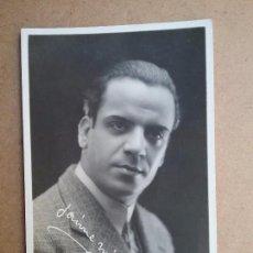 Fotos de Cantantes: POSTAL FOTOGRÁFICA JAIME MIRET BARÍTONO ÓPERA ZARZUELA AÑOS '30. Lote 147097170