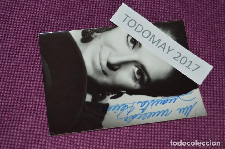 ANTIGUA FOTOGRAFÍA - JUANITA REINA - FIRMADA - BUEN ESTADO GENERAL - MUY ANTIGUA - PRECIOSA - Nº2 (Música - Fotos y Postales de Cantantes)