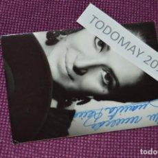 Fotos de Cantantes: ANTIGUA FOTOGRAFÍA - JUANITA REINA - FIRMADA - BUEN ESTADO GENERAL - MUY ANTIGUA - PRECIOSA - Nº2. Lote 80095149