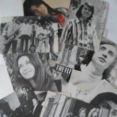 Fotos de Cantantes: LOTE 12 POSTALES PUBLICITARIAS CANTANTES Y GRUPOS AÑOS 70. Lote 80358125