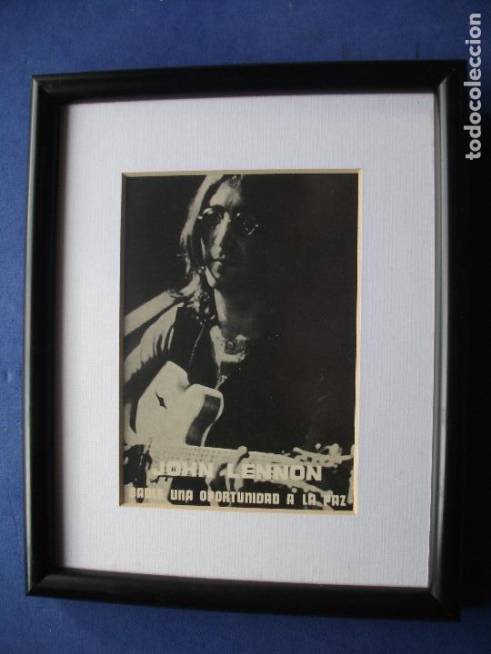 cuadro de john lennon john lennon blanco y negr - Comprar Postales y ...