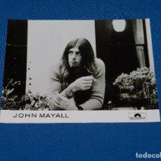 Photos de Chanteurs et Chanteuses: JOHN MAYALL - FOTOGRAFIA PROMOCIONAL DE EPOCA , 24 X 18'5 CM, BUEN ESTADO . Lote 82757308