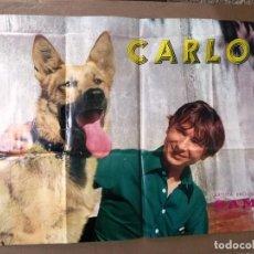 Fotos de Cantantes: CARTEL DEL CANTANTE CARLOS.ESCLUSIVAS SAMO.. Lote 83161160
