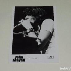 Photos de Chanteurs et Chanteuses: JOHN MAYALL - FOTOGRAFIA PROMOCIONAL DE EPOCA , 24 X 18'5 CM, BUEN ESTADO. Lote 195370425